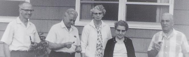 Sydney Clint Helen Mansfield & Rose Raymond Cooke c1958