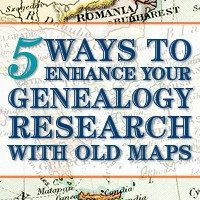 family maps and migration routes with old maps