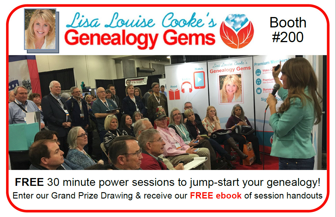 Great Scott! Genealogy Gems is Attending Federation of Genealogical Societies Conference