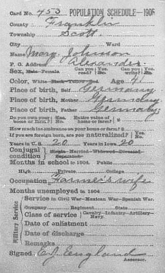 Iowa_1905_Census