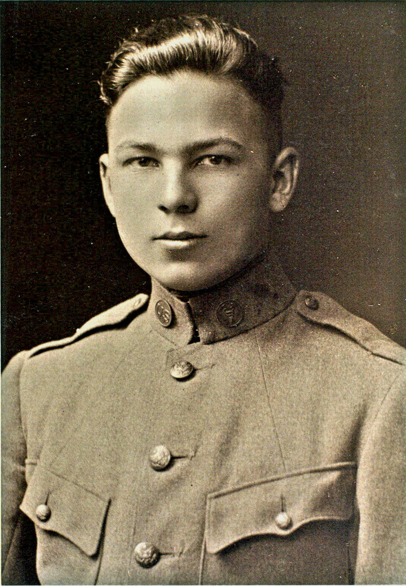 Frank Buckles, August 1917.