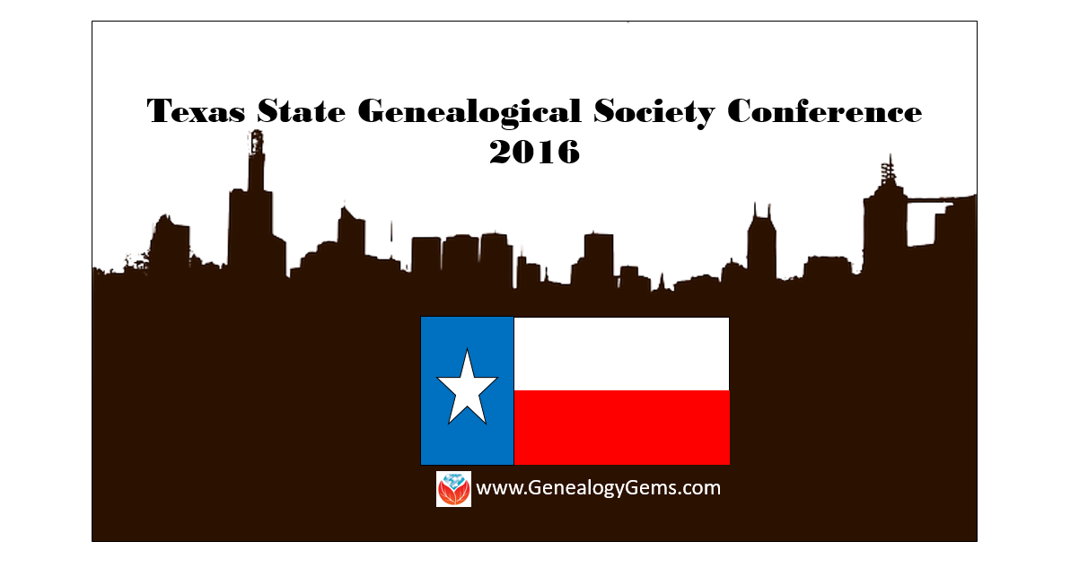Texas State Genealogical Society Conference 2016 Welcomes Lisa Louise Cooke