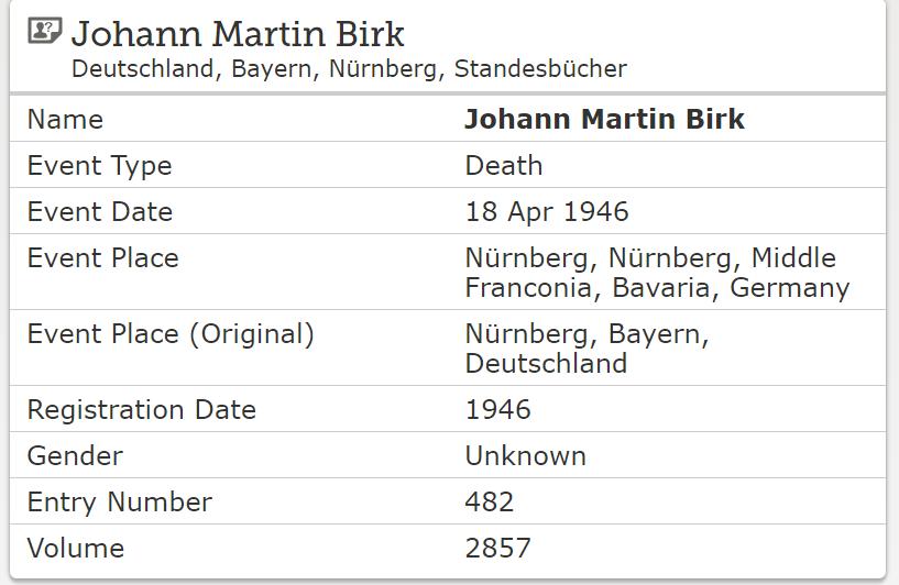 German Civil Registration