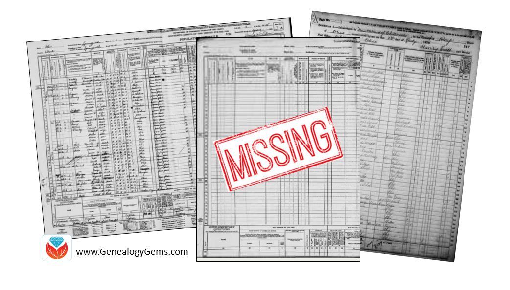 missing census
