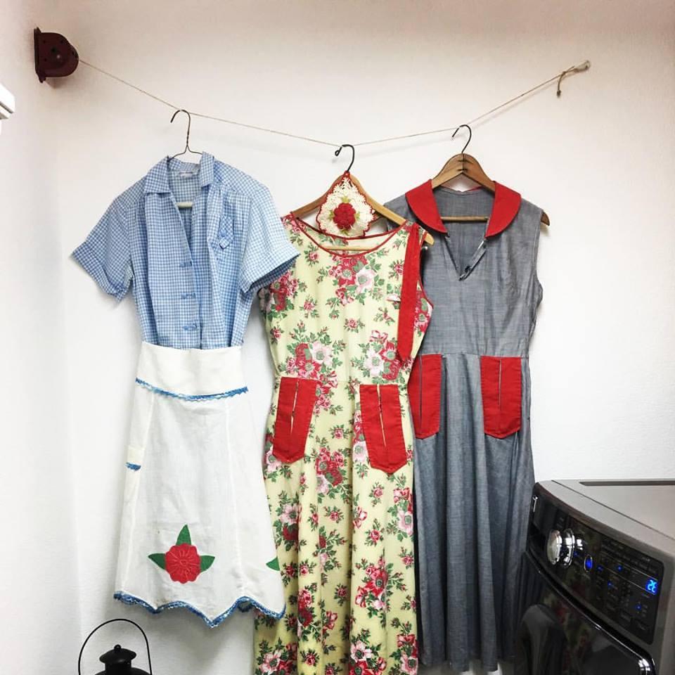 flour sack dresses