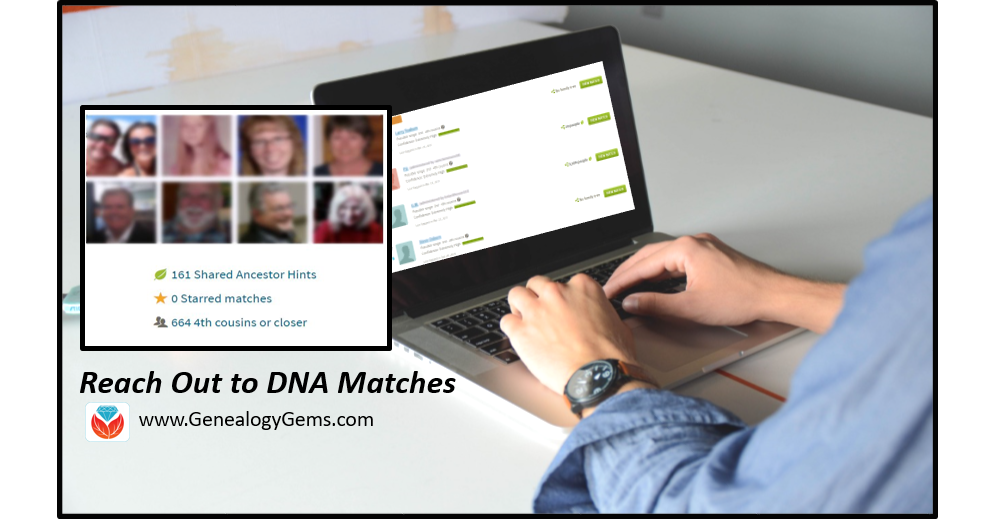 contact DNA matches