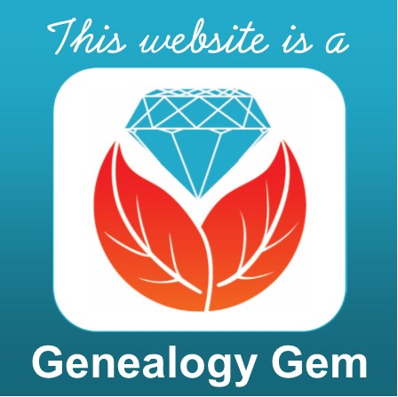 Genealogy Gems Blog Award
