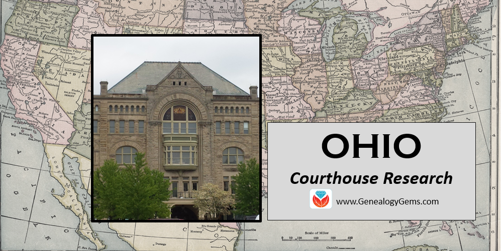 Ohio genealogy courthouse records