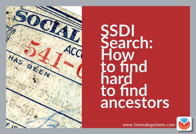 SSDI Search