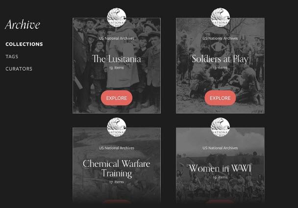 Remembering wwi app