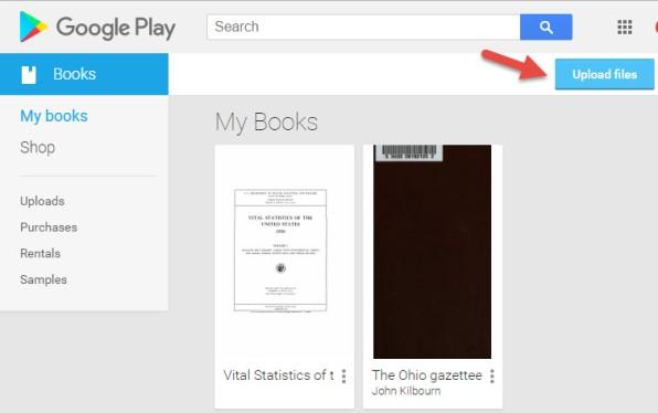 Google Books Library
