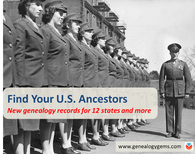 new genealogy records
