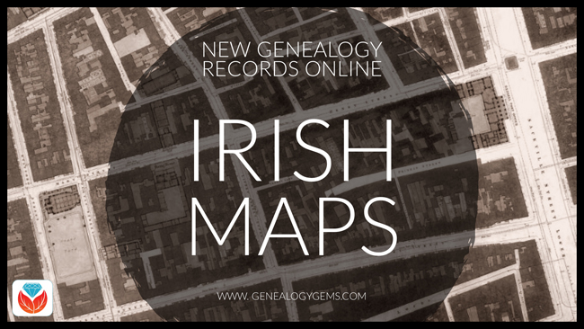 Irish historical maps