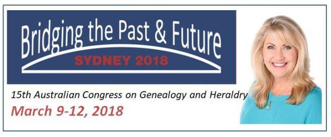 Australian genealogy congress banner
