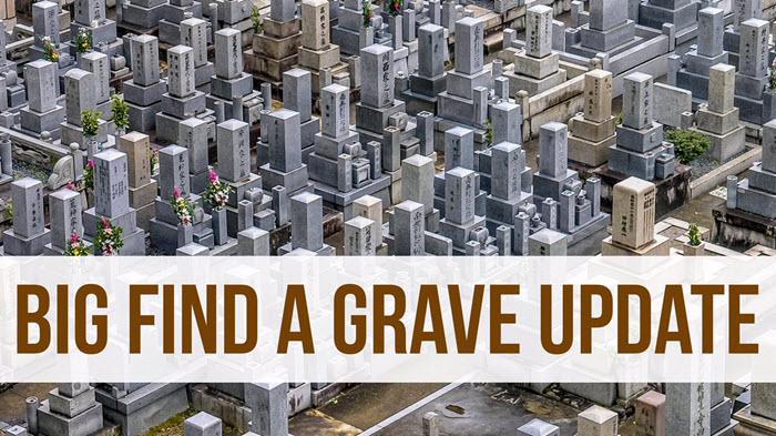 Big Find A Grave at Ancestry.com