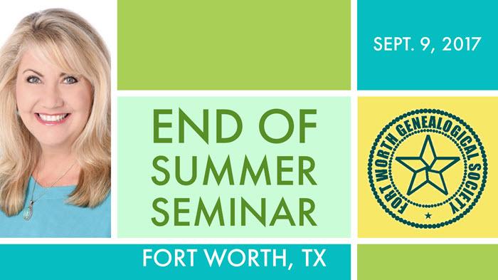 Fort Worth Seminar 2017