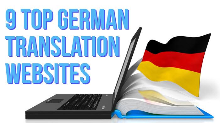 9 Top German translation websites