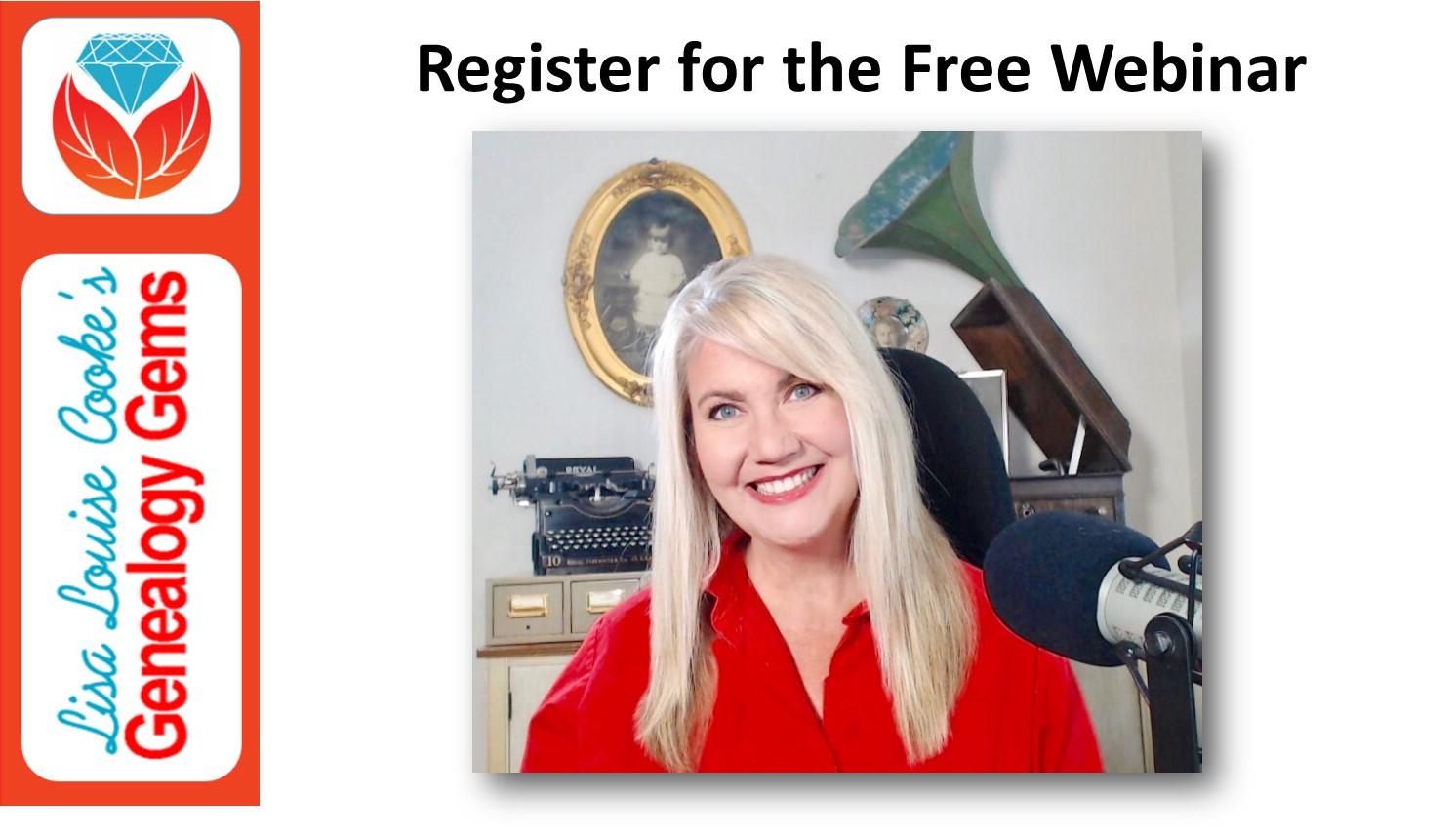 register for the free webinar