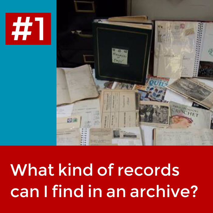 Top 5 Questions I Get Asked as an Archivist question1