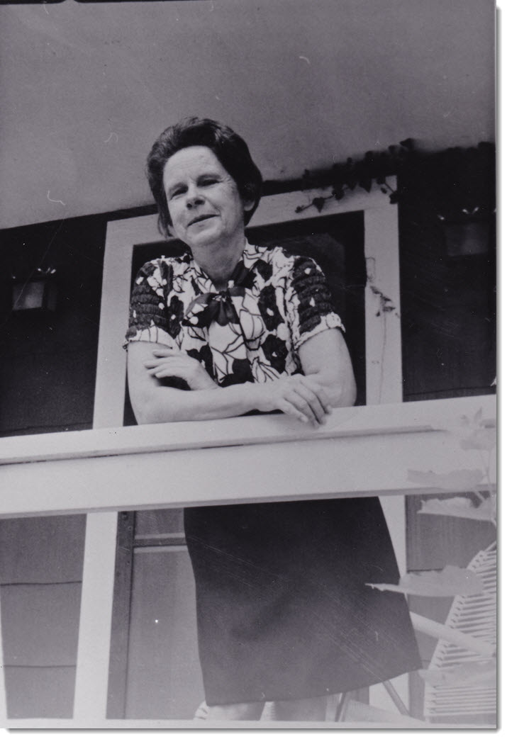 Margaret Poston Overbay early 1970s
