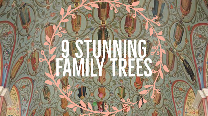 9 Unique Family Trees That Will Take Your Breath Away