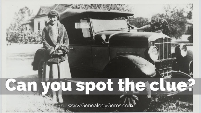 how to identify cars in old photos