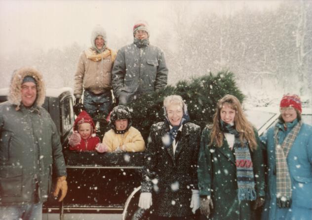 McClellan family Christmas traditions
