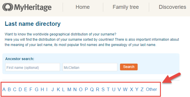 common surnames