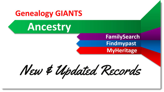 ancestry records new and updated