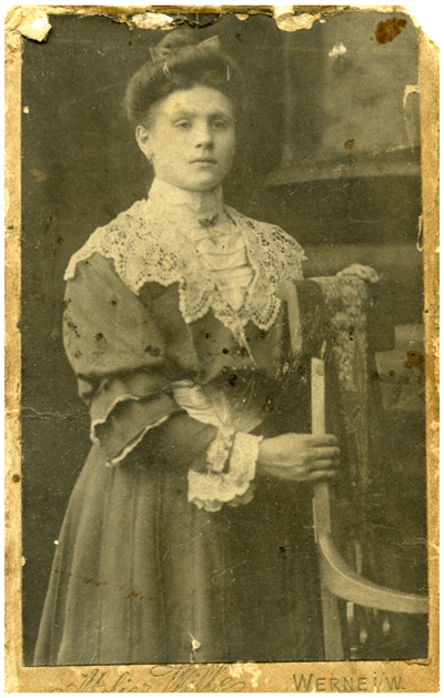 Louise at the time of her marriage
