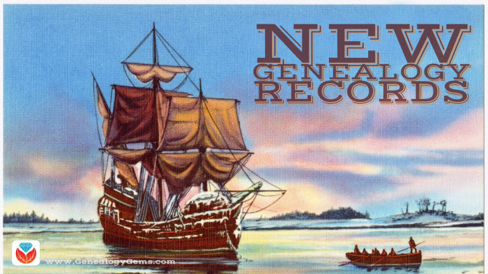 Mayflower Ancestors and More in New Genealogy Records Online