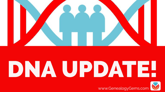 MyHeritage DNA Matching Update AND a New Chromosome Browser!