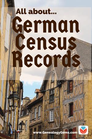 German Census Records