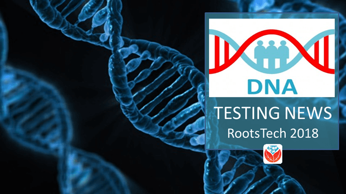 DNA News and Classes at RootsTech 2018