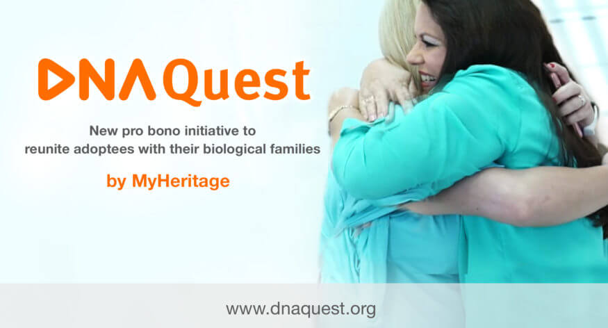 Major Pro Bono DNA Testing Initiative for Adoptees