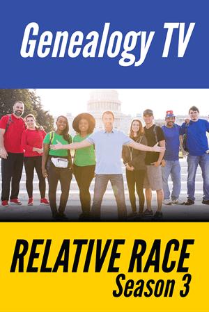 Relative Race Season 3 Genealogy TV Pinterest
