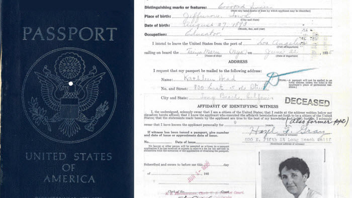 Passport Applications for Genealogy: A Birth Mom's Life