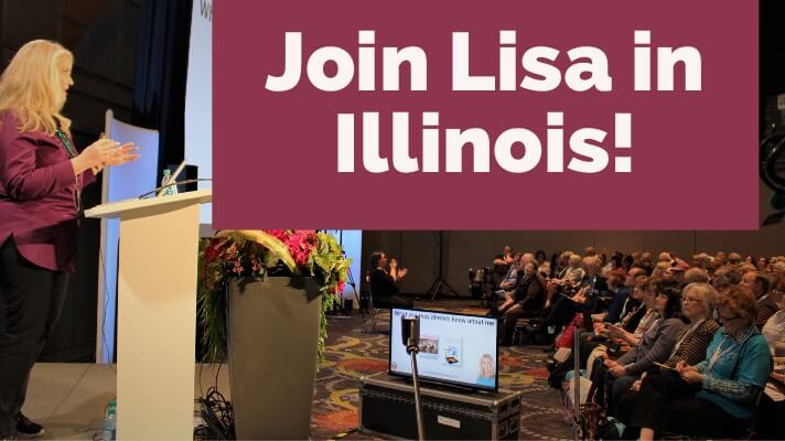 Join Lisa at GeneaQuest 2018 in Illinois