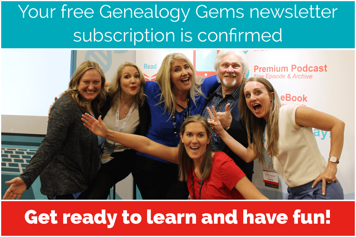 genealogy gems newsletter