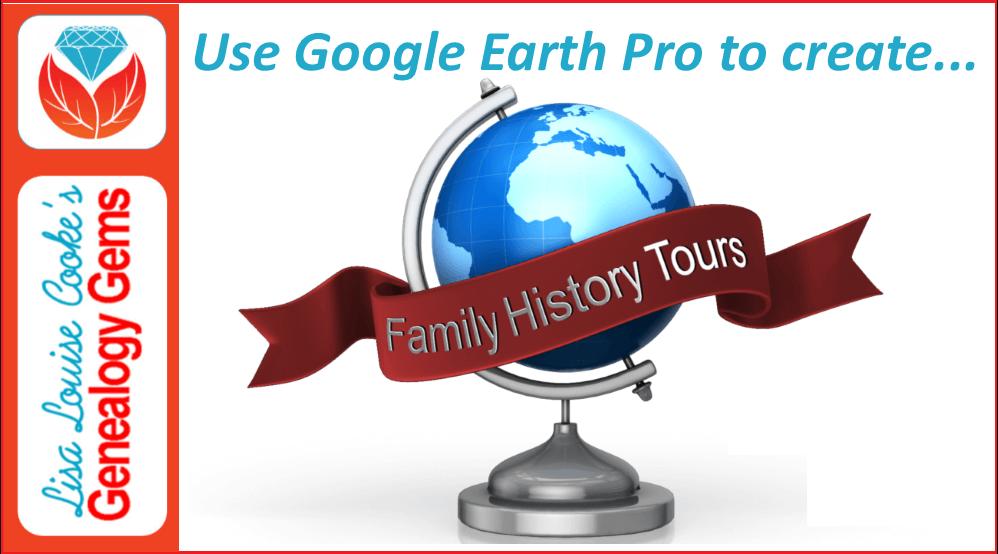 family history google earth tour