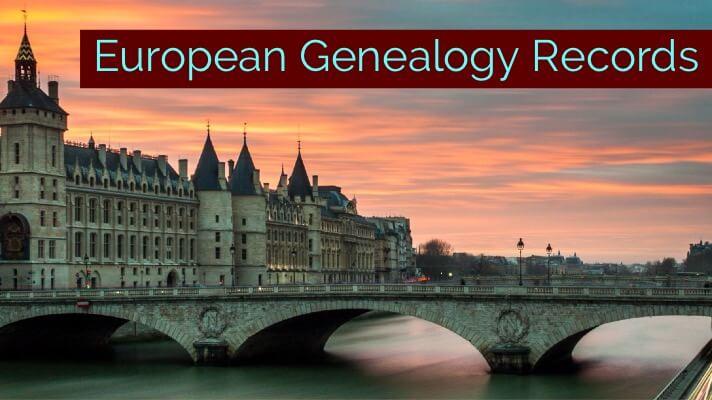 New European Genealogy Records Online