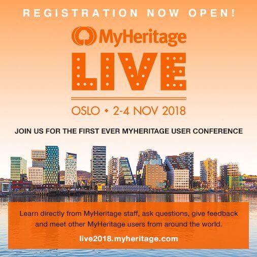 myheritage live