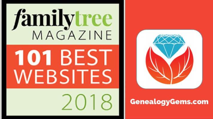Family Tree Magazine's 101 Best Websites 2018