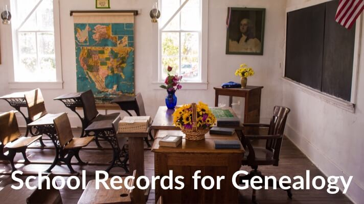 Best school records for genealogy