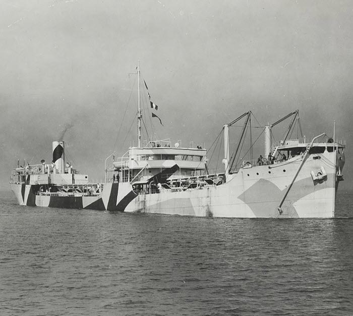 SS W. L. Steed Merchant Marine ship