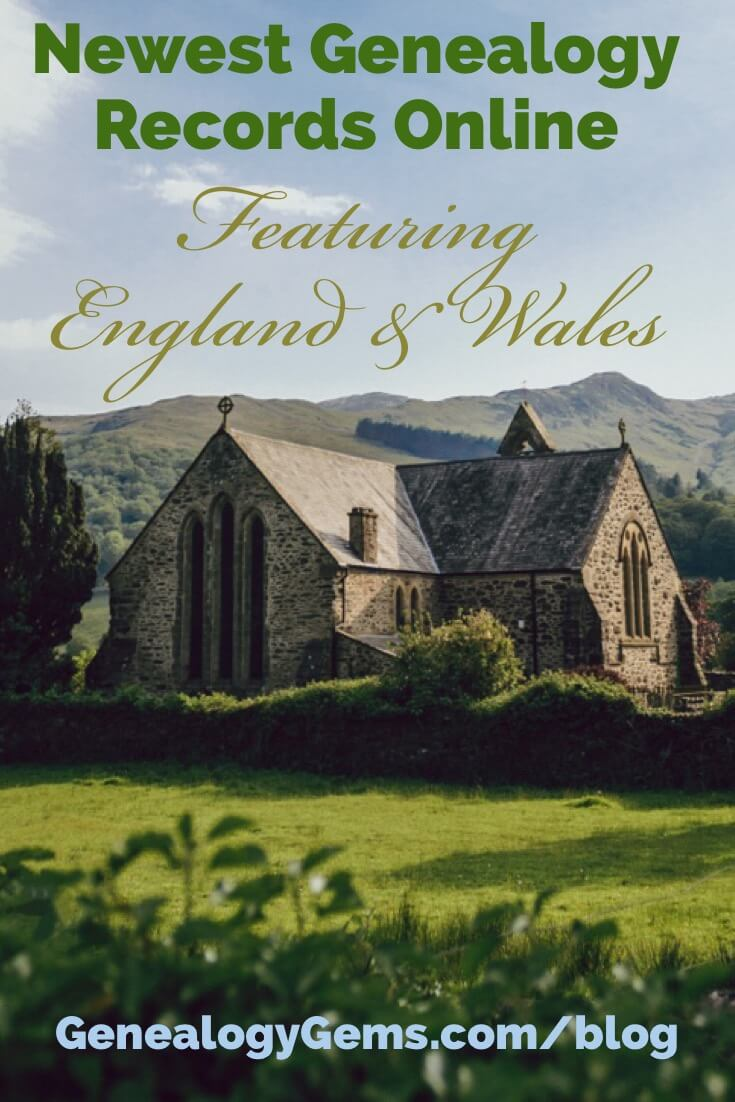 England Wales Genealogy Records
