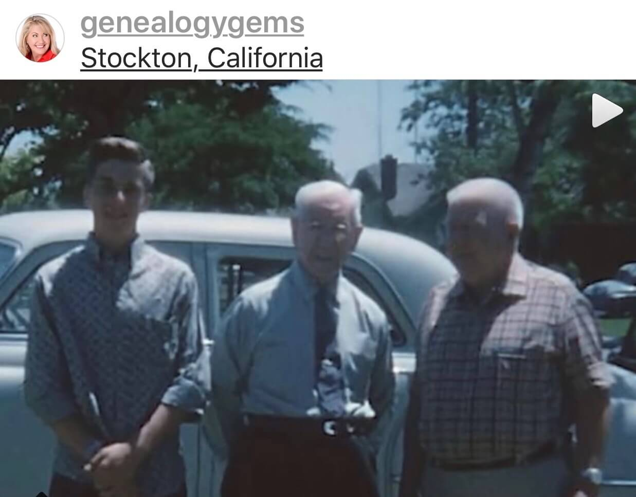 old home movies and genealogy - grandpa