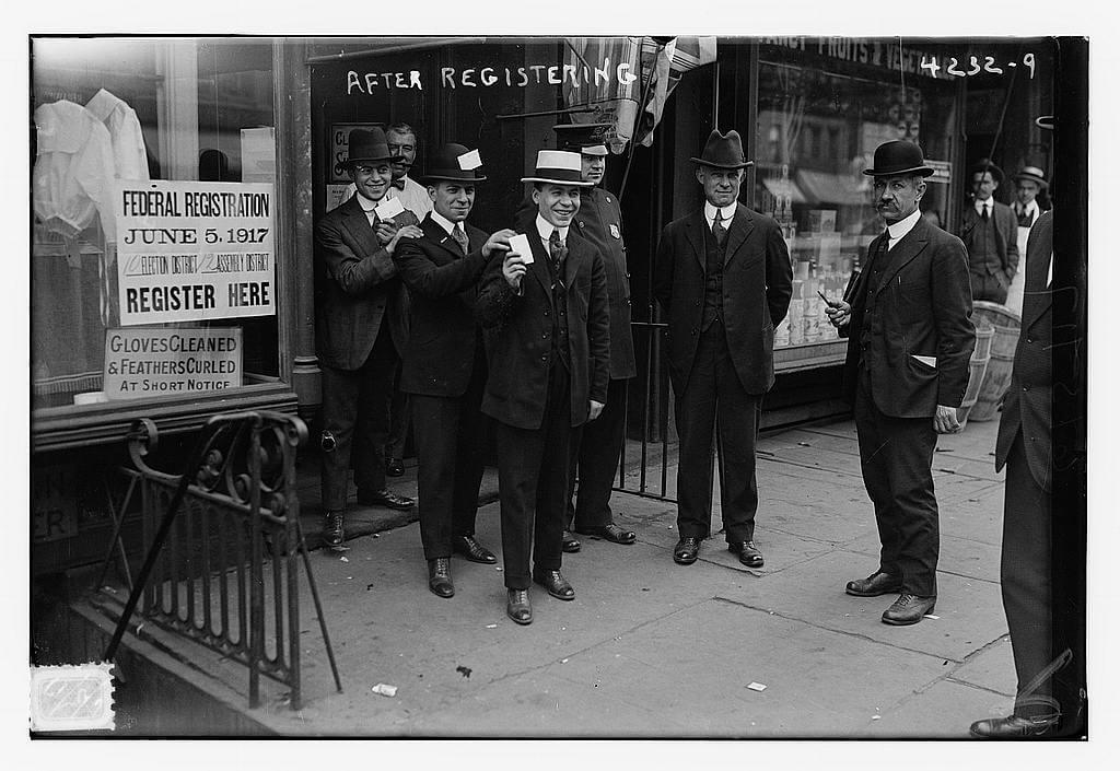 NYC-World War I After Registration