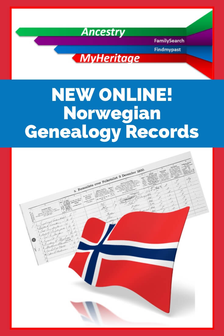 Genealogy Records for Norway