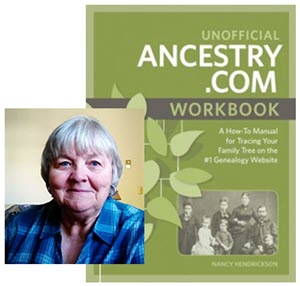 nancy henrickson author of Ancestry.com workbook